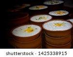 delicious indian popular drink...   Shutterstock . vector #1425338915