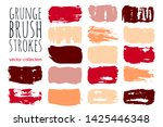 paint lines grunge collection.... | Shutterstock .eps vector #1425446348