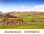 Barn Near River Ure In The...