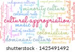 cultural appropriation word... | Shutterstock .eps vector #1425491492