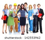group of workers. business... | Shutterstock . vector #142553962