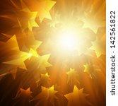 orange  abstract background   Shutterstock . vector #142561822
