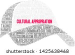 cultural appropriation word... | Shutterstock .eps vector #1425638468