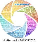 cultural misappropriation word... | Shutterstock .eps vector #1425638732