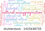 cultural misappropriation word... | Shutterstock .eps vector #1425638735