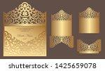 ornate laser cut wedding...   Shutterstock .eps vector #1425659078