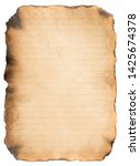 old paper vintage aged or...   Shutterstock . vector #1425674378