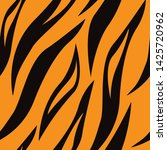 tiger skin seamless surface... | Shutterstock .eps vector #1425720962