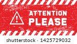 attention please do not enter...   Shutterstock .eps vector #1425729032