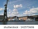 port of gdansk. gdansk ...   Shutterstock . vector #142573606