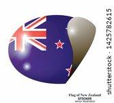 made in new zealand sticker.... | Shutterstock .eps vector #1425782615