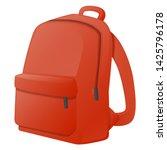 backpack school vector design...   Shutterstock .eps vector #1425796178