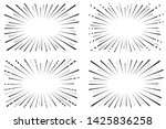 speed comic book. background of ... | Shutterstock .eps vector #1425836258