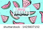 summer. fresh modern background.... | Shutterstock .eps vector #1425837152