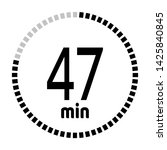 the 47 minutes countdown timer...