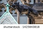 Gargoyles st. vitus cathedral...