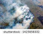 aerial view of wildfire in...   Shutterstock . vector #1425858332