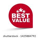 red vector illustration banner...   Shutterstock .eps vector #1425884792