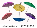 six actions of beautiful spread ... | Shutterstock . vector #1425911798