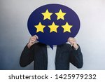 customer experiences concept.... | Shutterstock . vector #1425979232