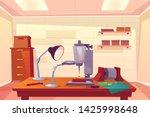 jeweler workshop  jewelry... | Shutterstock .eps vector #1425998648