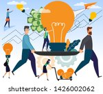 businessmen and creative ideas... | Shutterstock .eps vector #1426002062