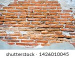 old walls that the cement had... | Shutterstock . vector #1426010045