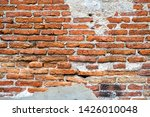 old walls that the cement had... | Shutterstock . vector #1426010048