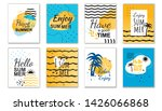 best summer wishes and... | Shutterstock .eps vector #1426066868