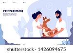 veterinary landing.... | Shutterstock .eps vector #1426094675