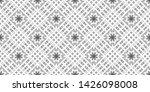seamless black and white... | Shutterstock . vector #1426098008