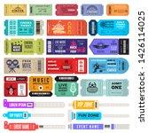 events bracelet. entrance key... | Shutterstock .eps vector #1426114025