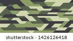 geometric futuristic camouflage ... | Shutterstock .eps vector #1426126418