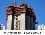 housing and construction in... | Shutterstock . vector #1426138475