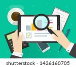 electronic audit research... | Shutterstock .eps vector #1426160705