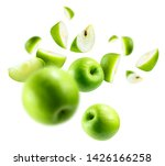 A Group Of Green Apples...