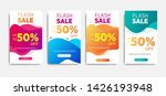 sale banner template with...   Shutterstock .eps vector #1426193948