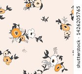 seamless pattern with spring... | Shutterstock .eps vector #1426205765