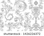 seamless pattern  background in ... | Shutterstock .eps vector #1426226372
