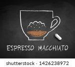vector chalk drawn sketch of... | Shutterstock .eps vector #1426238972
