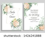 vector template for wedding... | Shutterstock .eps vector #1426241888