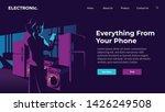 website header concept...   Shutterstock .eps vector #1426249508
