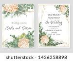 vector template for wedding... | Shutterstock .eps vector #1426258898