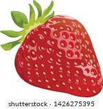 vector strawberry. bunches of... | Shutterstock .eps vector #1426275395