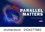 the future of parallel metters...   Shutterstock .eps vector #1426277882