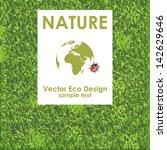 Vector Green Grass Background....
