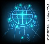 vector background abstract...   Shutterstock .eps vector #1426307915