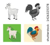 vector illustration of breeding ... | Shutterstock .eps vector #1426325378