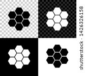 honeycomb sign icon isolated on ... | Shutterstock .eps vector #1426326158