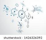 futuristic abstract vector...   Shutterstock .eps vector #1426326392